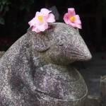 大豊神社 狛ネズミ