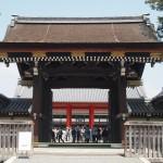 京都御所 建礼門 4月
