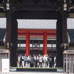 京都御所 扉が開いた建礼門