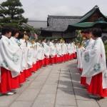 大覚寺 華道祭