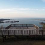 兜山からの久美浜湾 4月