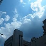 不安定な天気 4月26日