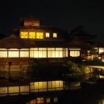 西本願寺 飛雲閣 4月