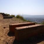 大文字山の火床