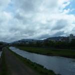 松原橋からの鴨川 5月2日