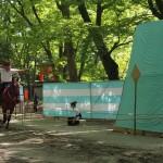 下鴨神社 流鏑馬の練習 5月