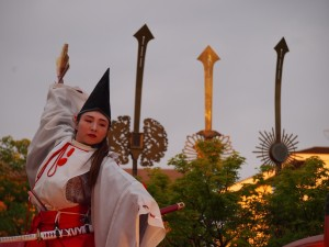 神泉苑 静御前の舞