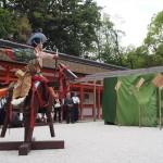 下鴨神社 古武道奉納 5月