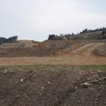 大規模な盛り土の工事