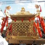 今宮祭 豪華な神輿