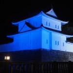 二条城 ブルーライトアップ