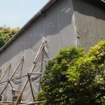 宇治上神社 修復中の本殿