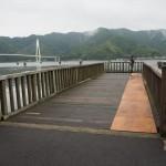 復元された引揚桟橋