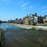 三条大橋からの鴨川