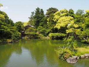 京都御苑 九条邸跡