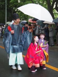 雨の葵祭 2014年
