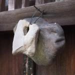 甘南備寺 奉納された石