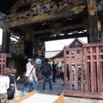 西本願寺 唐門の開門 5月
