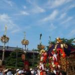 嵯峨祭 還幸祭 剣鉾と神輿