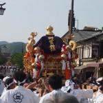 嵯峨祭 野宮神社の神輿