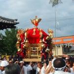 嵯峨祭 愛宕神社の神輿