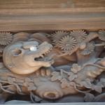 本圀寺 清正公廟 覆屋の彫刻