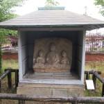 京都国立博物館 阿弥陀三尊石仏