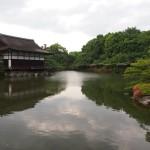 自然豊かな神苑