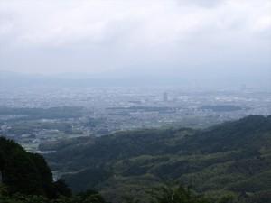 善峯寺からの眺め