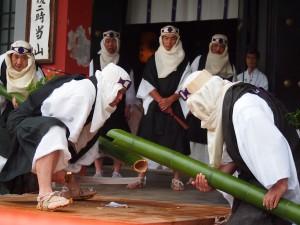 鞍馬寺 竹伐り会式