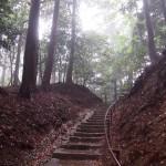 雨の鞍馬山