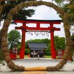 上賀茂神社 茅の輪 6月