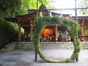 貴船神社の茅の輪