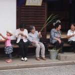 元祇園梛神社 茅の輪を作る