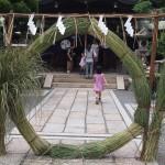 元祇園梛神社 茅の輪くぐり