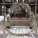下御霊神社 茅の輪