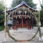 総神社 茅の輪