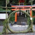 建勲神社 茅の輪