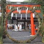 吉田神社 茅の輪