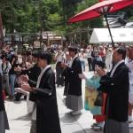 祇園祭 長刀鉾町お千度 7月