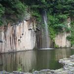 やくの玄武岩公園 7月