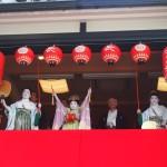 稚児舞披露 2013年