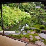 両足院 臨池亭からの眺め