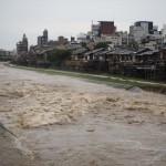 鴨川 西日本豪雨 7月
