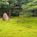 両足院 方丈前の苔庭