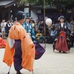 白峯神宮 蹴鞠