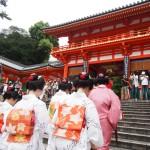 八坂神社 みやび会お千度 7月