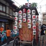 祇園祭 洛央鉾の曳き初め 7月