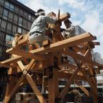 祇園祭 鉾建て 7月