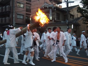 祇園祭 道清めの儀